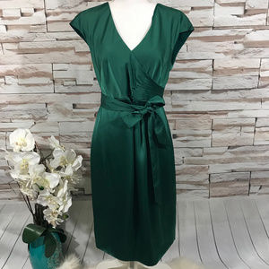 J.Crew Green Dress Sz 8 (G08)